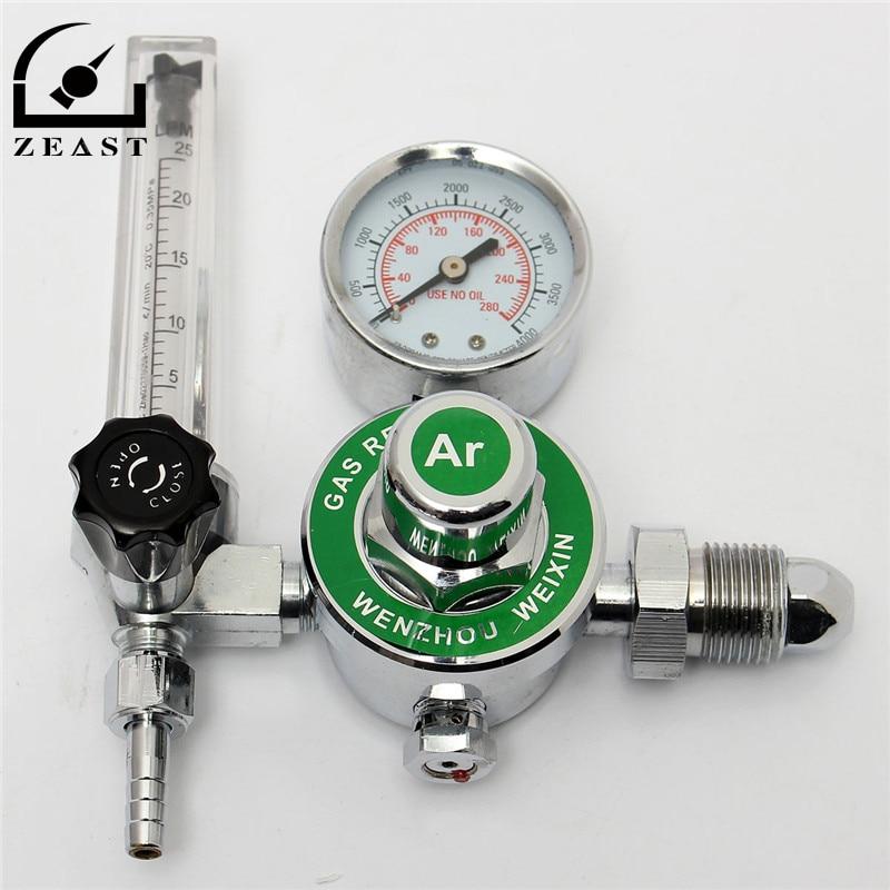 High Quality ARGON CO2 GAS MIG TIG FLOW METER WELDING WELD REGULATOR GAUGE FOR WELDER CGA580 FITS<br><br>Aliexpress