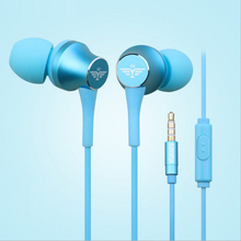 Sport Earphones In-ear Headphones Microfone Handsfree Fone de ouvido Music Earphone Bass Kulaklik Headphone