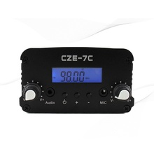 1W/7W stereo PLL 7W FM transmitter broadcast radio station CZE-7C 76-108MHZ 7w fm transmitter radio station(China)