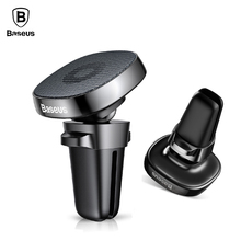 Buy Baseus Car Holder iPhone X 8 Sumsung Xiaomi Mobile Phone Holder Stand Air Vent Mount Car Phone Holder Magnetic Phone Holder for $7.46 in AliExpress store