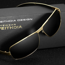 VEITHDIA Brand Men's Sunglasses Polarized Sun Glasses Driving oculos de sol masculino Eyewear Accessories For Men 2490