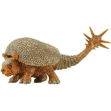 Original genuine animal toys prehistoric glyptodont extinct Doedicurus figure collectible figurine children learning toys