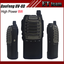 BAOFENG UV8D 8W High Power Professional handheld FM Transceiver Walkie Talkie Ham Two-Way Radio UV-8D Single Band Frequency