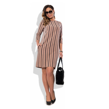 Buy 2017 New Arrival Autumn Dresses Plus Size Women Dress Female Striped Elegant Ladies Clothing Big Size Women Vestidos for $14.83 in AliExpress store