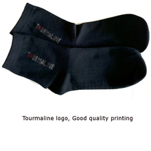 Tourmaline Sock Dark Blue Color Foot Sock Good elastic Comfortable Ankle Sock for Feet massage