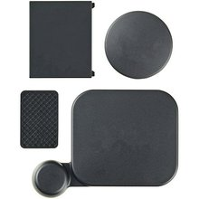 Top Deals Protective Housing and Camera Lens Battery Side Door Covers Kit for Gopro Hero 3 ONLY Black