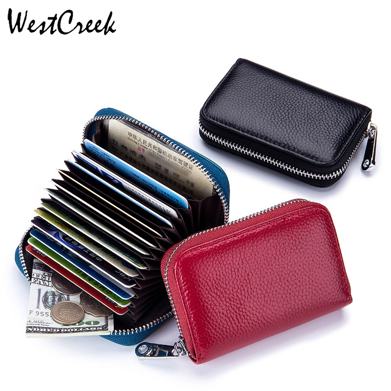 WESTCREEK Small Wallet Organizer Business Travel-Card-Bag Credit-Card-Holder Minimalist title=