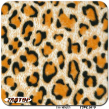 0.9m*11m  TSD2610 Yellow Leopard Patterns Water Transfer Printing Hydro Graphics Film Hydro Printing Film