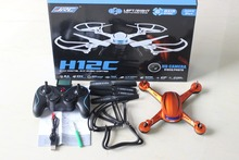 JJRC H12C 3D Flip Fly Headless Mode 2.4G 4 Channel RC Quadcopter Helicopter with Built - in 6 Axis Gyroscope (Without Camera)
