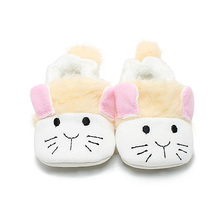 Delebao Warm Winter Soft Sole Suede Cute Cat Baby Sheos Super Comfortable Drawstring Elastic Infant Toddler  Baby Boy Shoes 2017