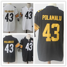 Mens 43 Troy Polamalu Jersey 2017 Rush Salute to Service High Quality Football Jerseys(China)