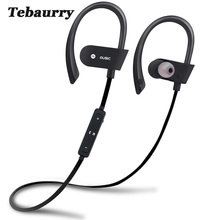Tebaurry Sports Wireless Bluetooth Earphone Stereo Earbuds Bluetooth Headset Bass Earphones Headphone for phone iPhone Samsung(China)