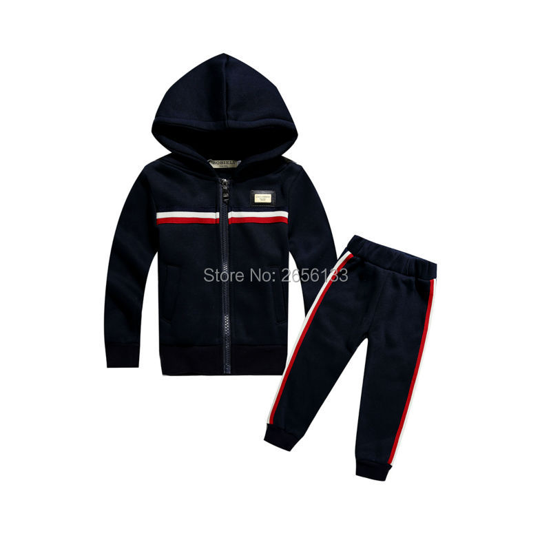 Hot 2017 spring luxury brand boy suit cotton jacket + casual pants 2 sets of childrens sports sets suit 1-7Y boy baby clothes<br><br>Aliexpress