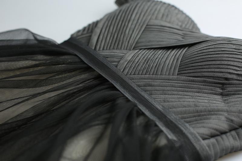 shop cheap Black Ball Gown Evening Dress Ball with Pleats