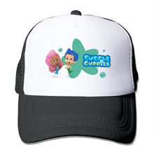 DUTRODU Unisex Baseball-caps Meshback Kids Toddler Bubble Guppies Cartoon Toddler Hat Caps hip hop hat vary colors(China)