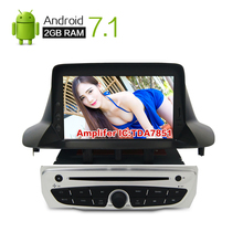 Android 7.1 Car Stereo DVD For Renault Megane 3 Fluence Auto Radio GPS Navigation Audio Video 2GB RAM Navi Head Unit Stereo
