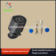 2 Pin Auto Sealed Connector Waterproof Female With Terminal 6N0 927 997 357 973 202 For VW Audi(China)
