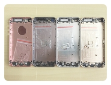 Custom IMEI Replacement Full chassis Case For iphone 5 5g 5s Back housing 5S Like SE metal alloy cover battery door