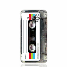 old school cassette tape cell phone case cover for Iphone 4S 5 5S 5C 6 6S Plus for Samsung galaxy S3/4/5/6/7 HTC+SONY
