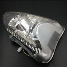 1x LED Brake Stop Tail Light Turn Signal Integrated Motorcycle For Suzuki Hayabusa GSX1300R 2008-2012 Clear Lens(China)