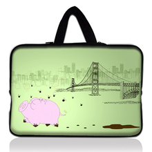 "Cute 12"" Universal Laptop Sleeve Bag Case For 11.6"" Acer Aspire One,Apple Macbook Air(China)"