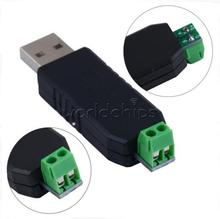 Free Shipping! CH340 USB to RS485 485 Converter Adapter Module Support Win7/Linux/XP/Vista NEW
