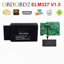 Buy Original WiFi Scanner Best Chip PIC18F25K80 Wireless ELM327 V1.5 OBD2 Code Reader ELM 327 IOS Android Windows for $9.90 in AliExpress store