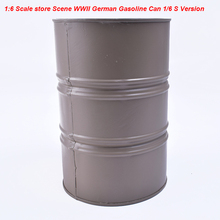 1/6 Scale Accessories Scene German Figure Gasoline Can Oil Drums Store WWII Action Figures S Version Model Fit 12 Inch Figure(China)