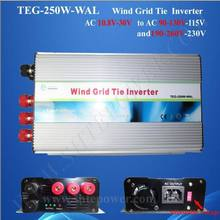 Build in dump load controller wind grid tie 250w ac to ac inverter 10.5-30v