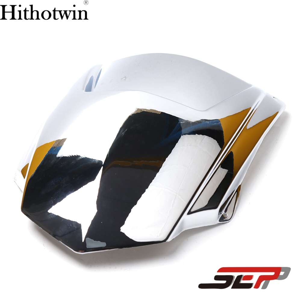 SEP Scooter Electroplate Front Headlight Headlamp Head Light Lamp Small Mask Cap Cover Shield Large For YAMAHA BWS X 125 X125<br>