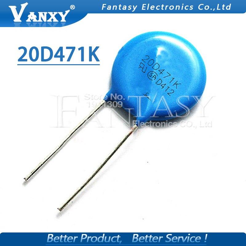 Varistors 132V 100A 21pF 5 pieces