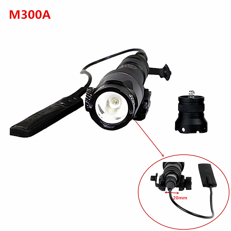 Tactical Hunting Lights SF M300 MINI SCOUT LIGHT M300A LED Mini Scout Flashlight<br><br>Aliexpress
