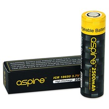 Authentic Aspire 18650 Battery Electronic Cigarette 3.7V Li-ion 2600mAh 18650 Battery Aspire ICR 18650 Cell Hybrid IMR Battery