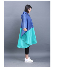 cloak raincoat women cute trench coat female waterproof free breathing rain coat ponchos travel capa de chuva chubasqueros mujer