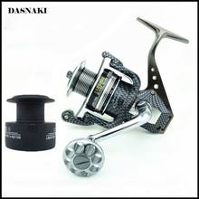 2016 New High-Grade Practical Fishing Reel Spare Spool Carbon Fiber Leg & Spool Super Light SSG1000-7000 12BB & 1 Spinning(China)