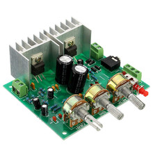 Electric Unit High Different Quality Two channel 2.0 15W+15W TDA2030A hifi stereo amplifier AMP board DIY Kit Hifi Enjoy(China)