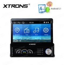 XTRONS 7 inch Android 5.1 Quad Core Multi Color Button 1 Din Haed unit MP3 MP4 Radio Car Player Map GPS navigation Stereo No DVD