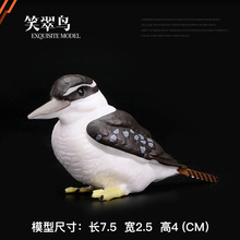 original simulation birds Laughing Jackass animal imitate toys kids educational toys for children gift(China)