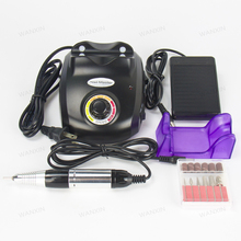 30000Rpm Electric Nail art Drill File Machine with Emery Rods Sand Bits Professional Salon Nail Art File Manicure Pedicure Tool
