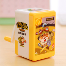 Kid Funny Mechanical Hand Crank Pencil Sharpener With Puzzle Toy Body Material Escolar Papelaria School Supplies Staionery PS004