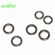 100Pcs Carp fishing Quick change Round rig rings fishing rigs O rings 3.1mm&3.7mm(China)