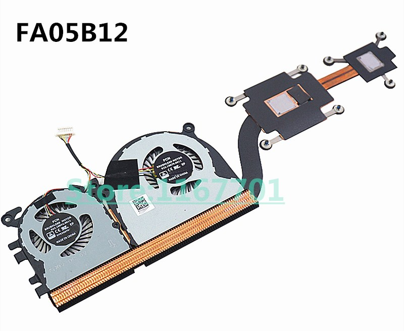 New Original  Laptop/Notebook CPU cooling Radiator Heatsink&Fan for MI XiaoMi Air 13.3 Pro13 FA05B12 01A01X0