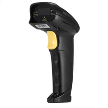 High Performance Bi-directional USB Cable Laser Barcode Scanner Handheld Barcode Scanning Gun for Supermarket Shop(China)