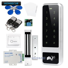 HOMSECUR Waterproof Anti-tamper RFID Access Control System With 3-7cm Reading Distance(China)