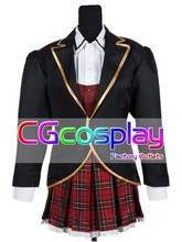 Free Shipping Cosplay Costume RWBY Ruby/Weiss/Blake/Yang School Uniform New in Stock Retail/Wholesale Halloween Christmas Party