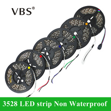 Led Strip Lights SMD3528 12V Flexible Led Strip Bar Light Non Waterproof Strips  LED Tape 5m/roll Christmas LED Strip light