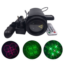 Outdoor LED Lawn Lamp Dynamic Laser Light Waterproof Remote Control Spot Lights Change Pattern Card For Party Wedding Garden(China)