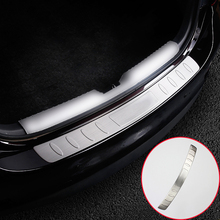 FIT FOR 2014 2015 2016 MAZDA 6 ATENZA M6 GJ REAR DECK BUMPER PROTECTOR STEP PANEL BOOT COVER SILL PLATE TRUNK TRIM GARNISH GUARD