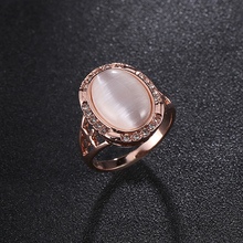New fashion Wedding Rings copper opal ring Womens Fashion Jewellery Ring