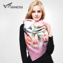 [VIANOSI]  Newest Design Bandana Printing Winter Shawls and Scarves Women Warm Wool Cashmere Scarf Woman Brand Wrap VA072